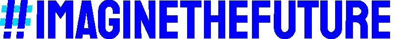 Imagine Logotype Blue Cyan