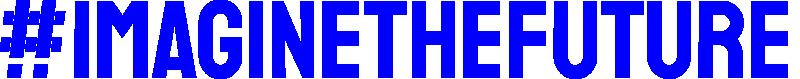 Imagine Logotype Blue Mono