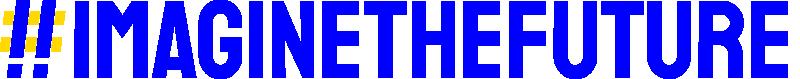 Imagine Logotype Blue Yellow